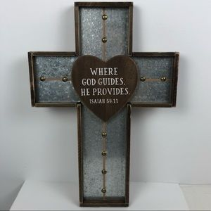 Decorative Christian Cross Home Decor/Wall Hanging
